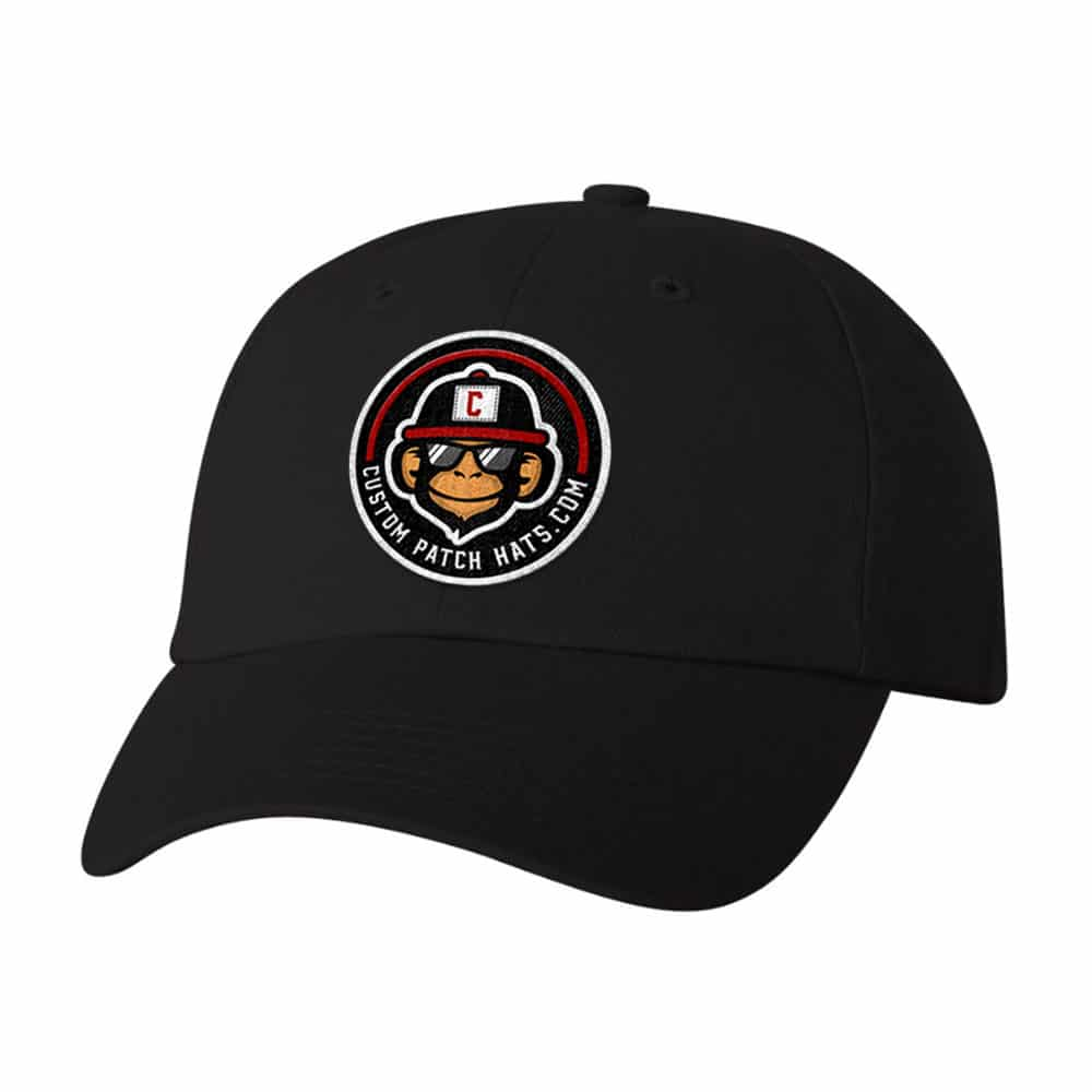 Custom Dad Hat With Patch