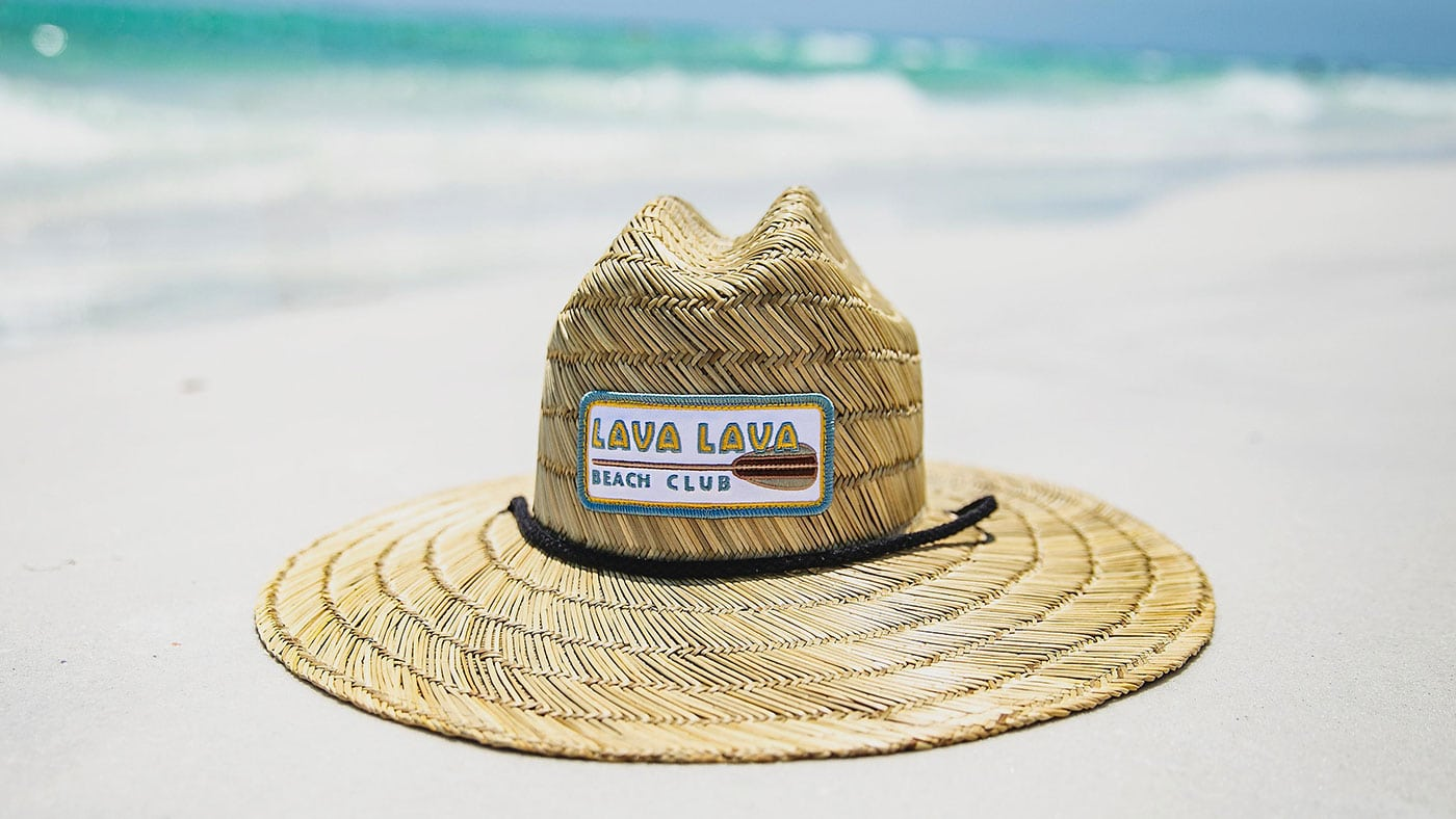 Custom Straw Lifeguard Hats With Patch