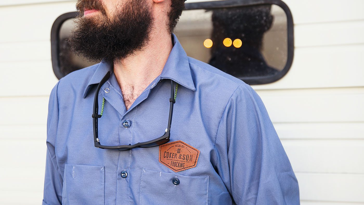 Work Shirts With Custom Patch