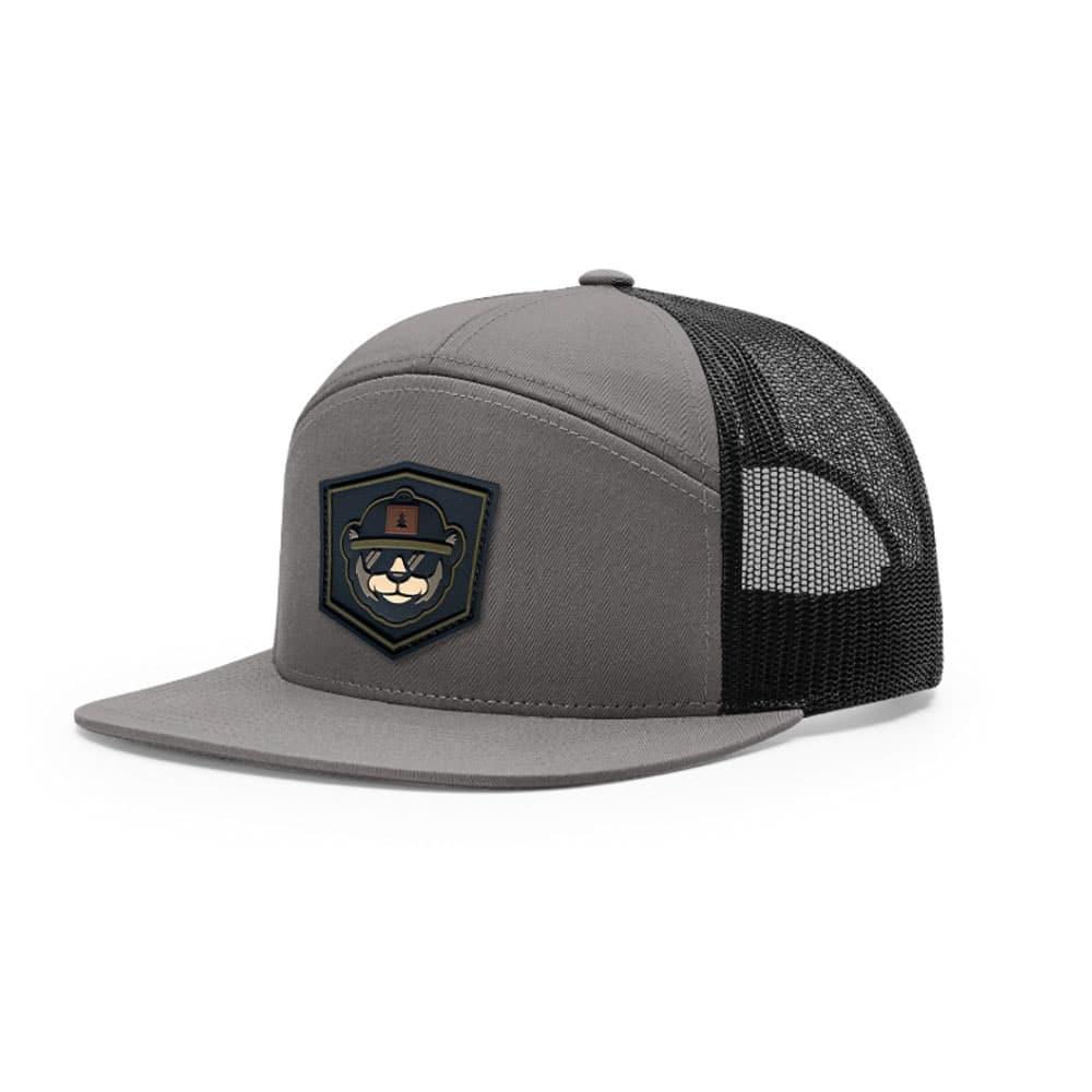 7 Panel Hat Custom With PVC Patch