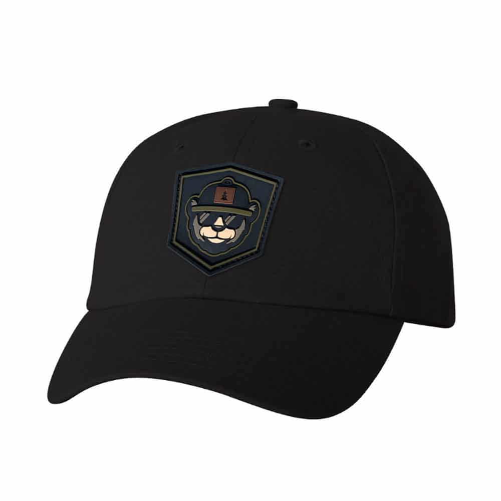 Dad Hat Custom With PVC Patch