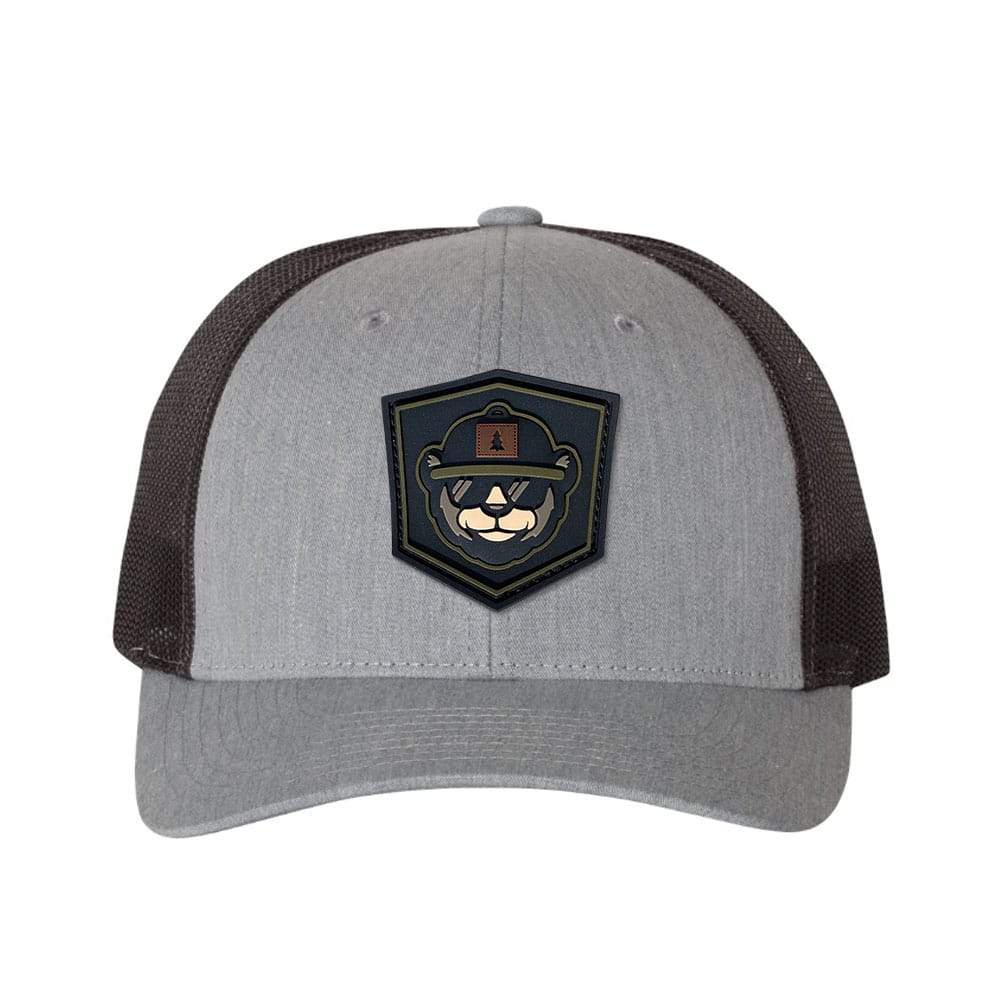 Low Profile Trucker With PVC Patch