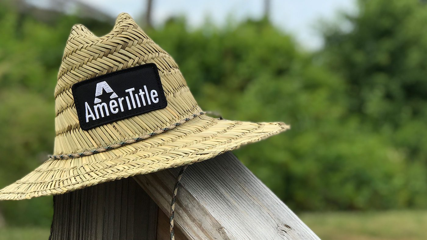 Custom Straw Landscaping Hats
