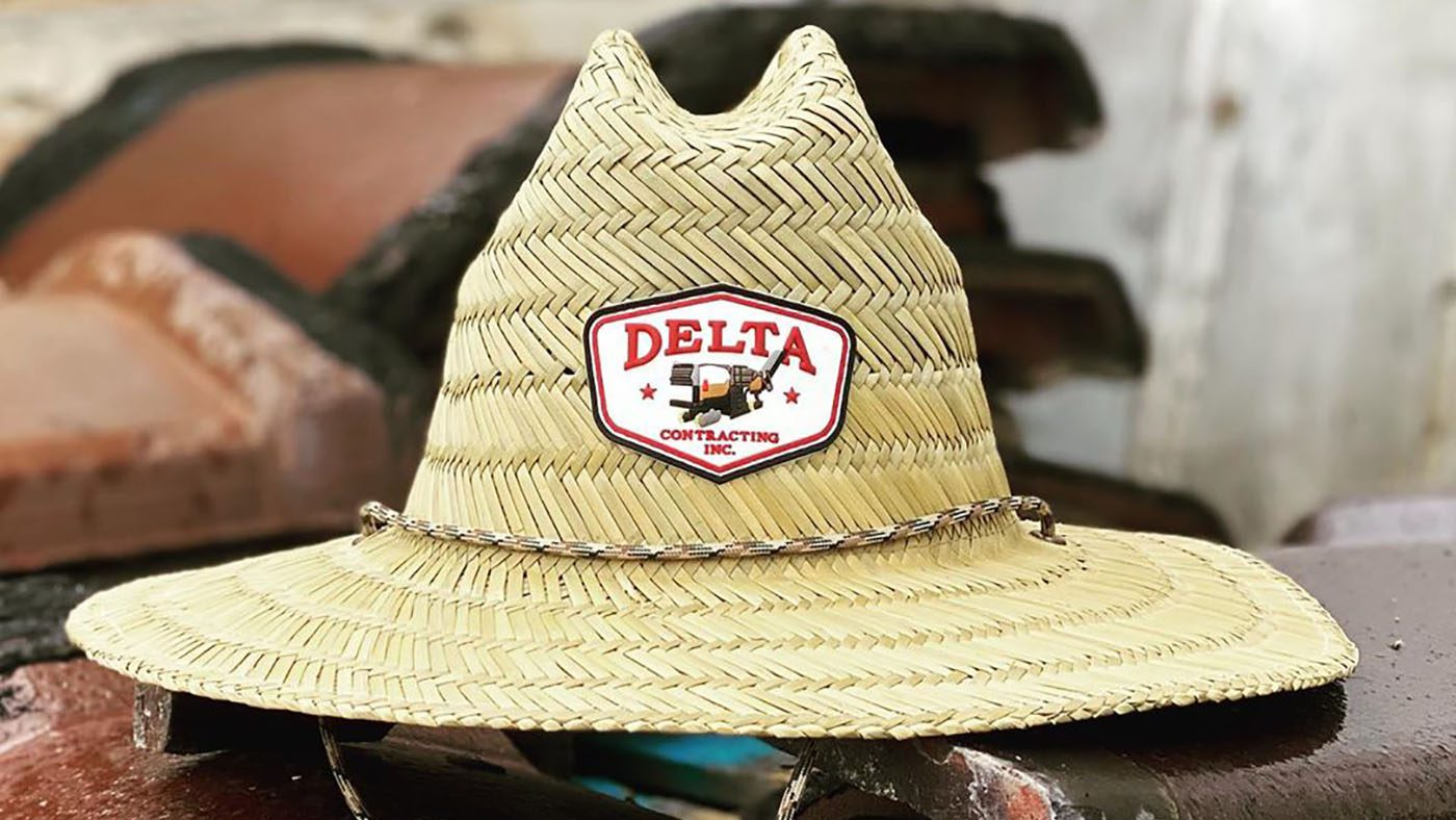 Custom Straw Patch Hat