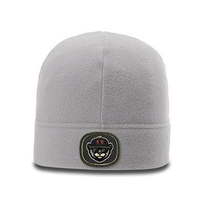 Richardson R20 Microfleece Beanie Grey Patch